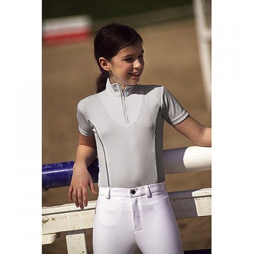 Polo F.F.E. Equi-Thème, enfants - Tenues de concours enfant