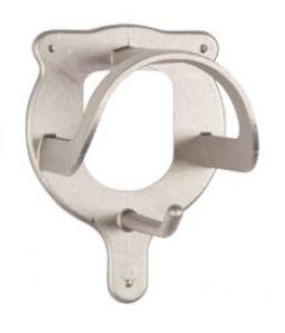 Porte-bridon aluminium