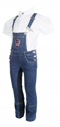 Salopette SANTA FE fond peau - Pantalons à fond intégral enfant