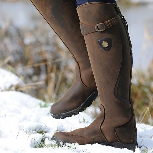 Bottes SNOWY RIVER tige/mollet standards - Bottes d'équitation d'hiver
