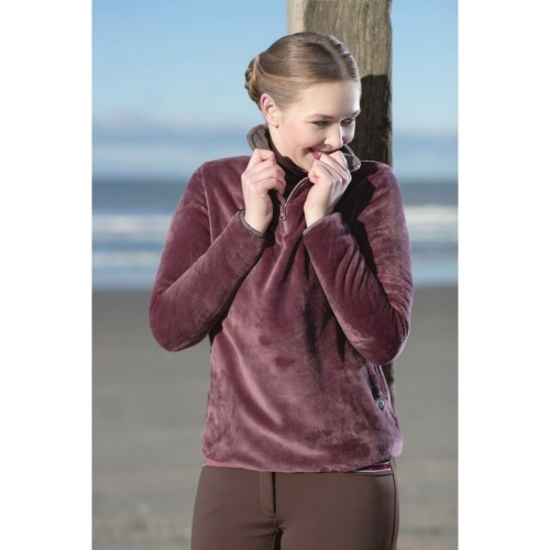 Sweat aspect velours VELLUTO - Sweats et pulls d'équitation