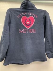 Sweat 3/4 ans polaire SWEET HEART