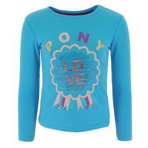 T-Shirt PONY LOVE à sequins