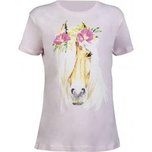 T-Shirt équitation Flower Horse