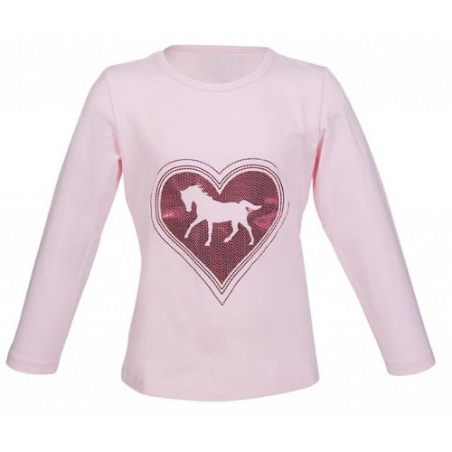 T-shirt manches longues PICCOLA - T-shirts & polos d'équitation enfant