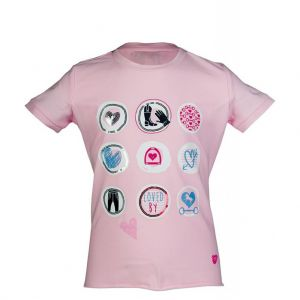 T-Shirt equitation fille PICCOLA