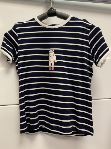 T-Shirt PONEY rayé - T-shirts & polos d'équitation enfant