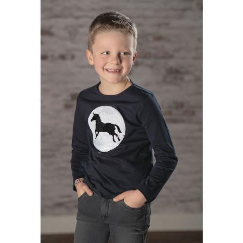 Tee-shirt manches longues ROMEO - T-shirts & polos d'équitation enfant