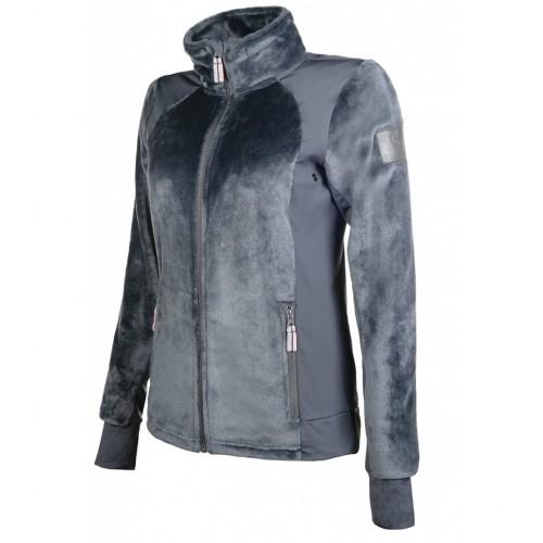Veste en velours polaire TOPAS CM Style - Vestes d'équitation polaires